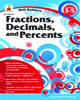 Fractions, Decimals and Percents by Carson-Dellosa