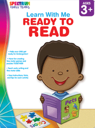 Spectrum Early Years - Learn With Me Ready To Read