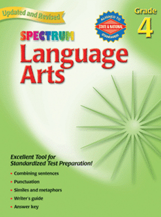 Spectrum Language Arts grade 4
