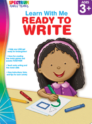 Spectrum Learn with Me Ready to Write
